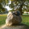 Hédervár, 1997-ben állított Burgonya bogár szobor, 2011. október 22.-én