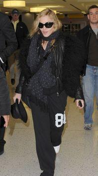 Madonna-airport