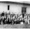 Kisbodaki diákok Érsek Imrével-Bözsi tanító nénivel 1955-ben