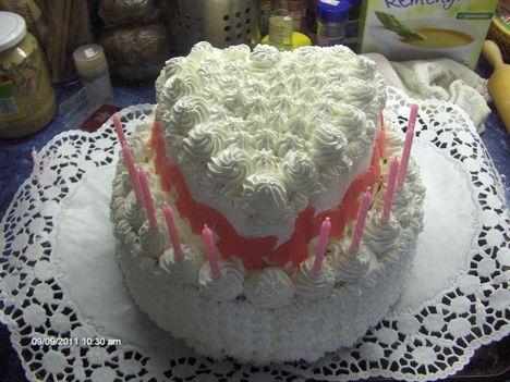 emeletes oroszkrém torta