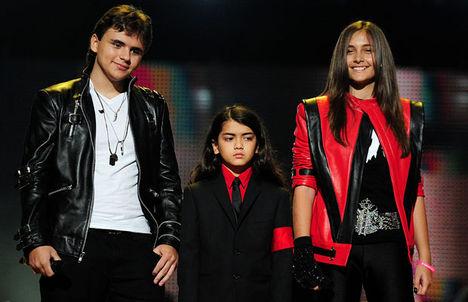 Michael Jackson gyerekei