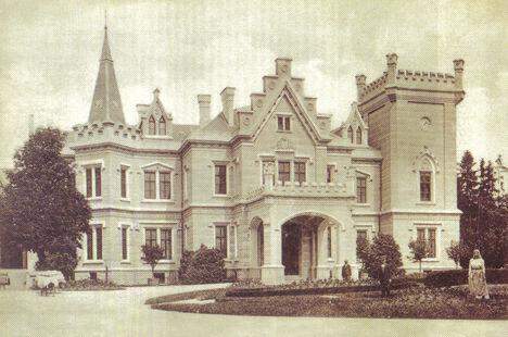 2.rész_Nádasdy kastély_A kastély egy 19. századi képeslapon