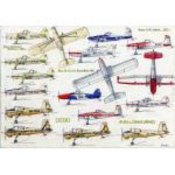 Gibas Andor magyar repülőgép rajzai