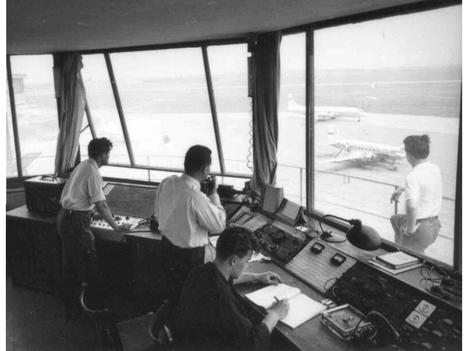 Légiirányítás régen