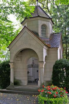A zeneszerző Liszt Ferenc sírja Bayreuthban.