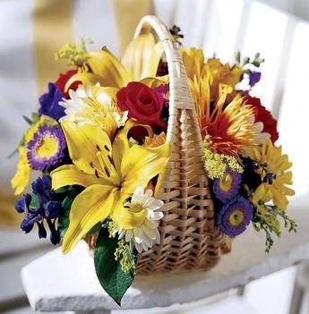 Kosár virág Neked!