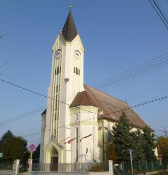 Darnózseli, A római katolikus templom, 2011. november 04.-én