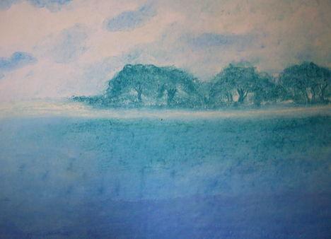 Nyugodt kékség
