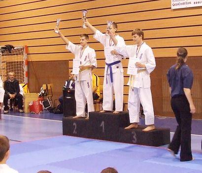 Karate Dunaszerdahely 2011.11.05.