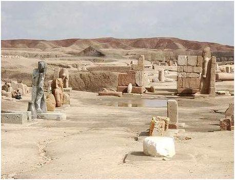 Avaris, Alsó-Egyiptom fővárosa volt