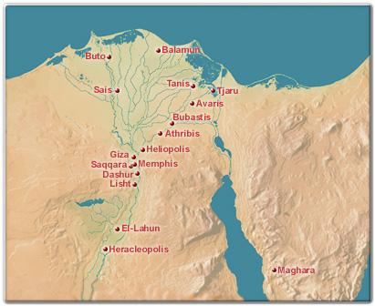Avar-Is Avar város Egyiptomban