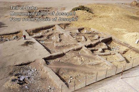 Jézus apjának feltátelezett sírja Avarisban