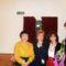 Madarász Kati,Petö Csilla képvis.asszony és Kali Margit a nagyváradi Állami Filharmóniában