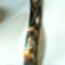 kézzel festett üveg falióra