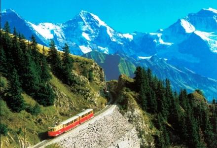 Az Alpok országa Svájc