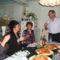 Bősi barátainkkal az ebédlőnkben