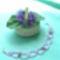 lila virágos kari