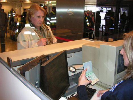 Schengeni útlevélellenőrzés