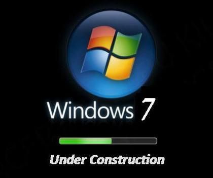windows 7 építés alatt