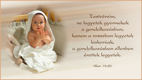 1 kor.14.20