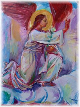 Angyal festmény