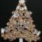 arany-kristály karácsonyfa