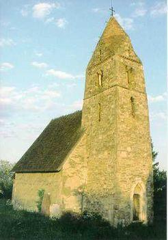 Árpádkori templom Zeykfalva
