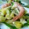 Édeskömény ananász saláta garnélával