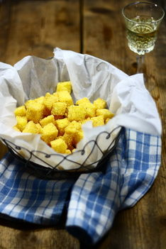 grillezett polenta