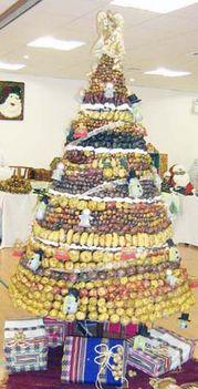 gyümi-bonbon karácsonyfa