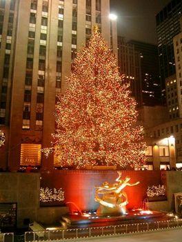 Rockefeller Centeri karácsonyfa