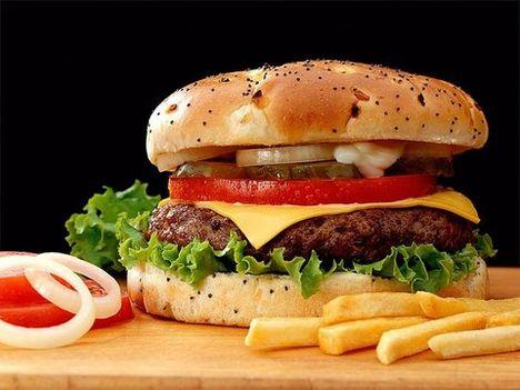 Sajtburger kicsit máshogy