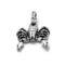 SKORPI Scorpio-Statuette-sterling-silver-3d-pendant-4712