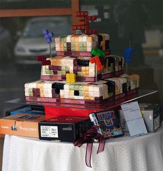 tetris torta kockapárnak