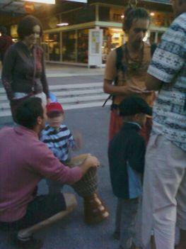 Veszőprémi utcazenei fesztiválon 2011 3
