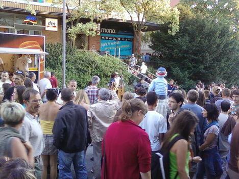 Veszőprémi utcazenei fesztiválon 2011 6
