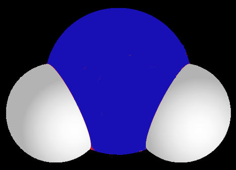 vízmolekula