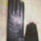 Fekete nappa  eladásra készült kesztyűk. 1