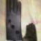 Fekete nappa  eladásra készült kesztyűk. 2