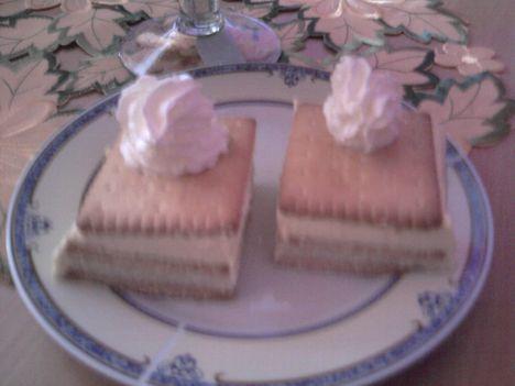 Kekszes grízes sütés nélkül