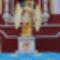frissen felújított templomrészlet