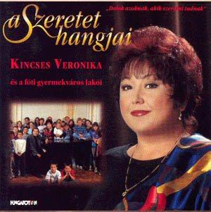 Kincses Veronika a szeretet lemezborítón