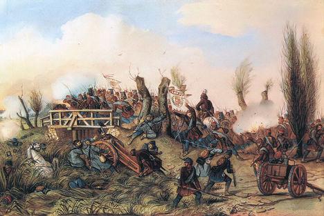 2. tápióbicskei ütközet 1849. április 4.