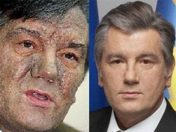 A Putyin elrendelésére 2004-ben megmérgezett volt ukrán elnök, Juscsenko