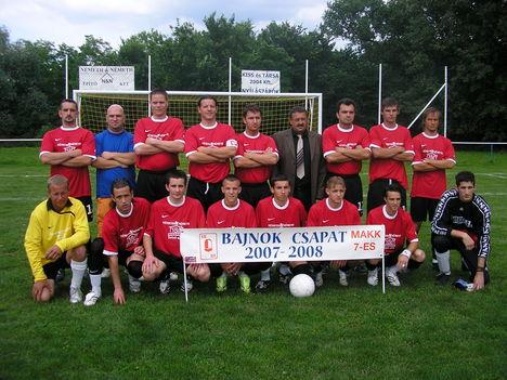 Bajnokcsapat 2007-2008