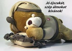 Jó éjszakát kívánok!