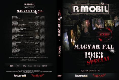 Magyar fal DVD borító
