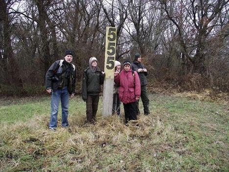 555 km-re a Tisza Duna egybefolyástól