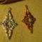 karácsonyi jégcsap csillagok