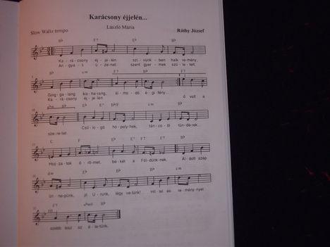 Karácsony éjjelén   /ünnepi dal